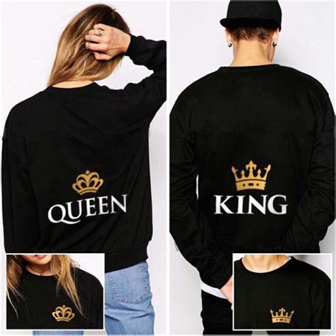 Matching Sweatshirts For Boyfriend And Aliexpress Buy King And S Matching
