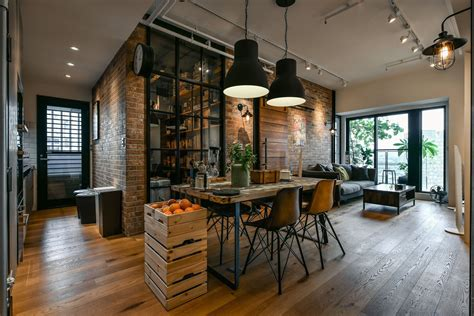 taipei city industrial loft apartment
