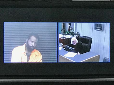 34th District Court Search Deangelo Davis Pleads Not Guilty In Shooting Of Wayne State