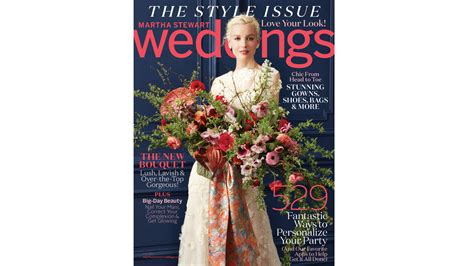 Martha Stewart Weddings by Go Inside Our Brand New Fall Issue Martha Stewart Weddings