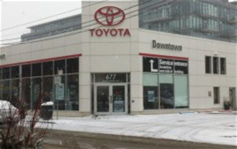 Toyota Of Downtown Downtown Toyota Riverside Toronto
