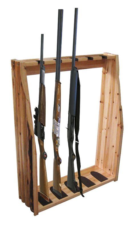 Rifle Racks by Creek Free Standing 5 Gun Rack Fitness Sports