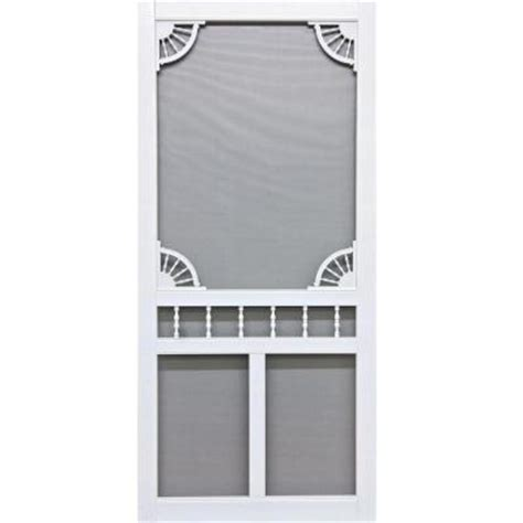 screen tight 36 in x 80 in riverside screen door rvs36