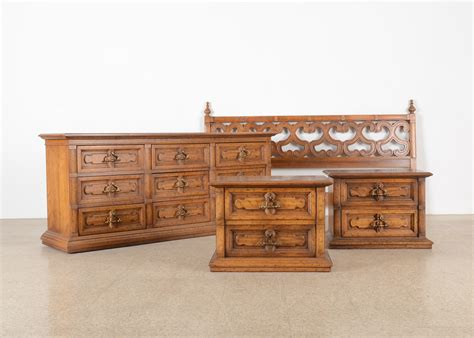 drexel bedroom furniture 1970s mediterranean style drexel bedroom set ebth mid