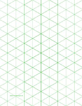 pattern block triangle grid paper this letter sized isometric graph paper has one inch