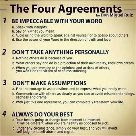 The Four Agreements Quotes Pdf