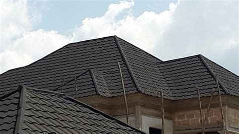 Dome Home Interiors cheapest stone coated step tile roofing sheet in nigeria