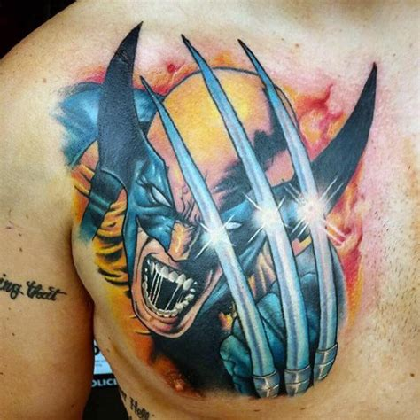 x tattoo ideas 90 wolverine tattoo designs for men x men ink ideas