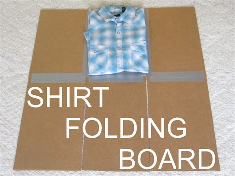 How To Make A Folder Out Of Construction Paper - diy clothes folding board make