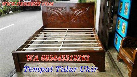 Dipan Kayu Akasia jual dipan kayu berkualitas dengan finising melamin dan