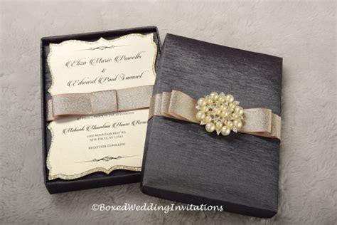 Hochzeitseinladung Box by Wedding Invitation Box Invitation Box Couture Invitation