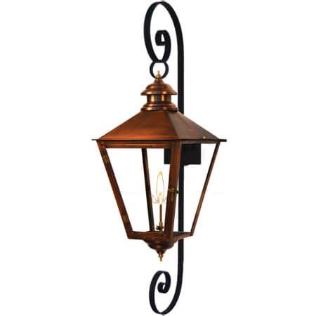 Gas Light Grill Copper Smith Adams Series Lanterns Available In Gas Or
