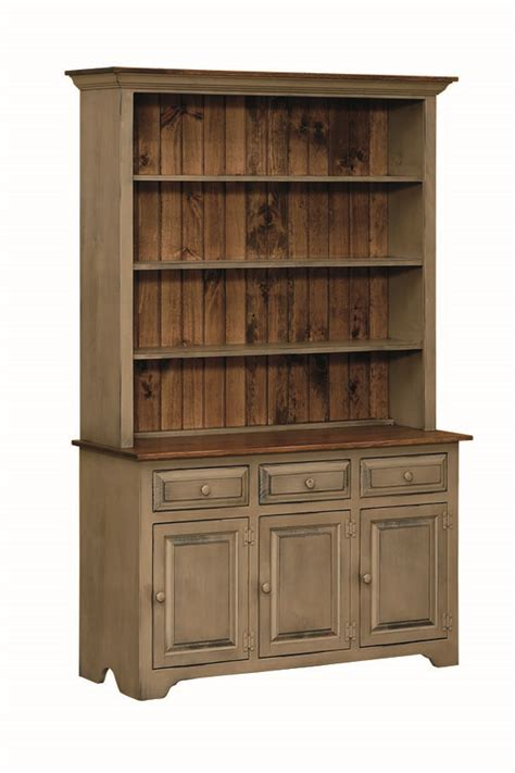 hutch kitchen furniture home furniture kitchen hutch open door amish connections