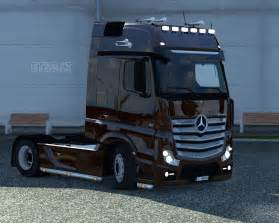 Mercedes Truck Pictures Mercedes Actros Mp4 Gamemods15