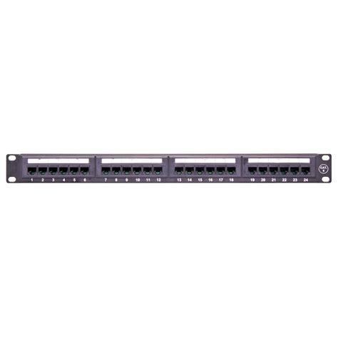 Patch Panel Rj45 24 Port 24 port ethernet network patch panel cat6 utp rj45 19 inch