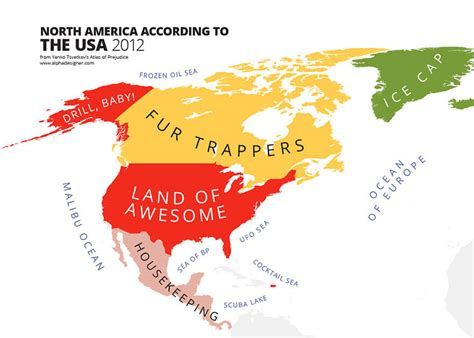 How To Find In The Usa 31 Maps Of National Stereotypes And How View