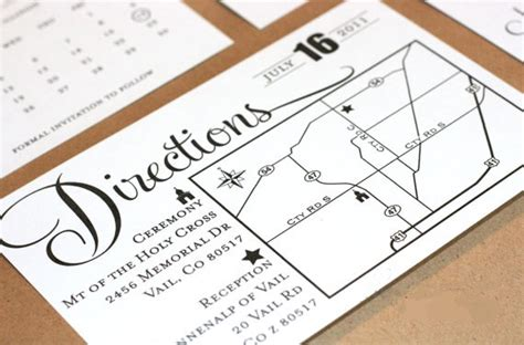 direction cards template free information avaiable direction cards for wedding