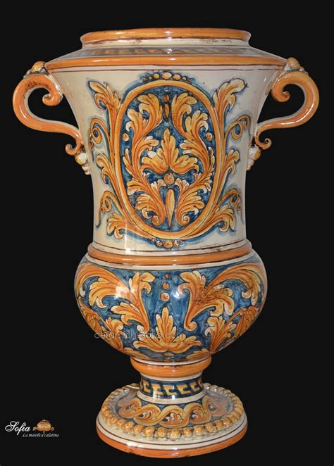 vasi di caltagirone 14 rba001a vasi in ceramica di caltagirone ceramiche