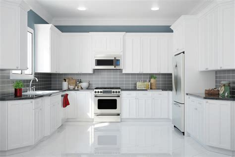 Glass Tile Backsplash Ideas For Kitchens 49 wonderful white bright kitchens interiorcharm
