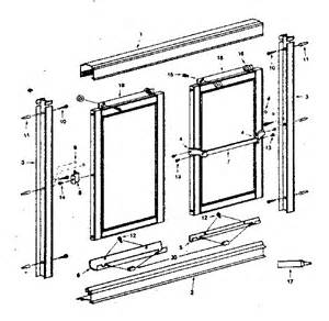 aluminum shower door frame parts 301 moved permanently