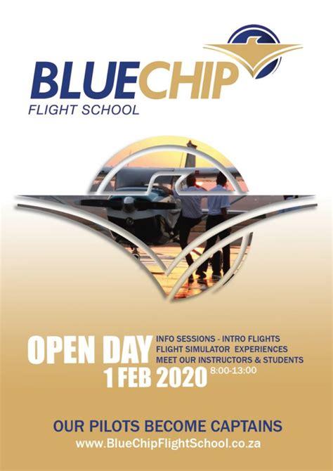 open day blue chip flight school