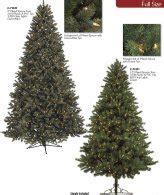 new castle artificial fir tree artificial tree pre lit slim pine