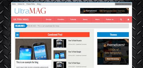 blogspot themes portfolio ultramag portfolio blogger theme ivythemes com