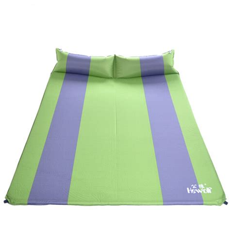 inflatable bed pillow buy automatic double thick inflatable mattress with pillow