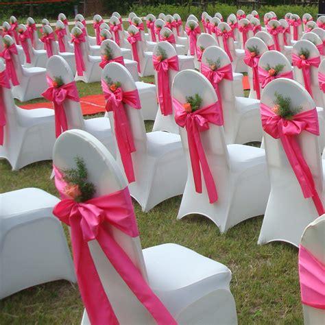 Inexpensive Backyard Wedding Wedding Chair Decorations Ideas The Latest Home Decor Ideas