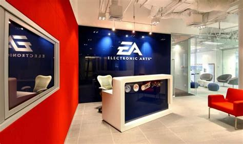 Electronic Arts (EA) Shanghai Office eOffice Coworking, Office Design, Workplace Technology