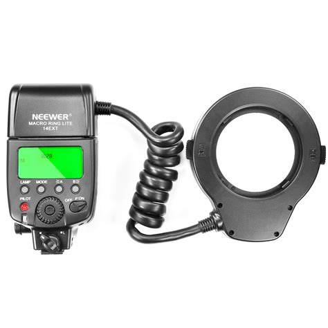 neewer macro ring led light neewer macro ring flash led light for nikon d3000 and
