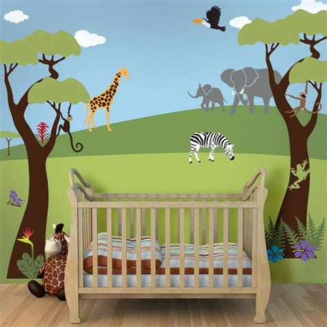 safari wall mural safari wall murals robinson house decor special