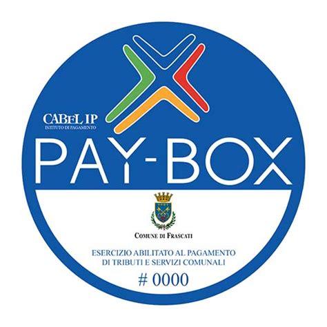 comune frascati ufficio scuola frascati con il sistema pay box sar 224 possibile pagare