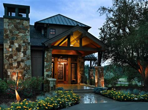 Colorado Style House Plans by Rustic Colorado Mountain Home Offers Refined Contemporary