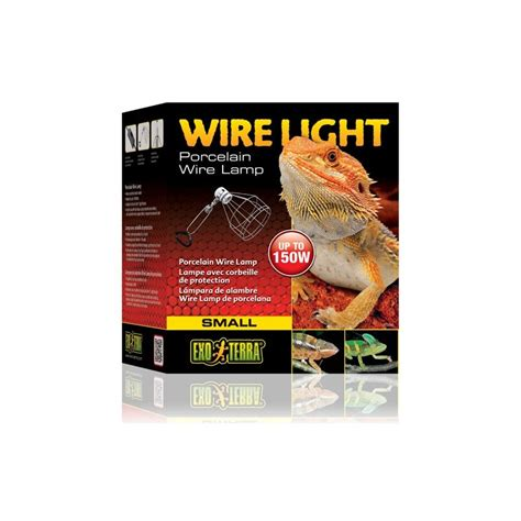 exo terra wire light small exo terra wire light large