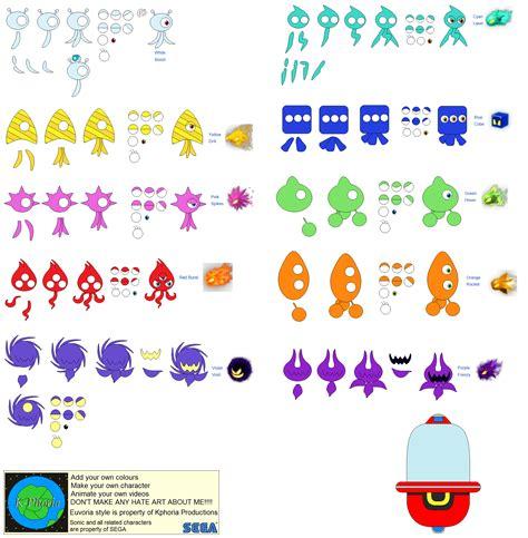 sonic colors wisps character builder wisps by kphoria on deviantart