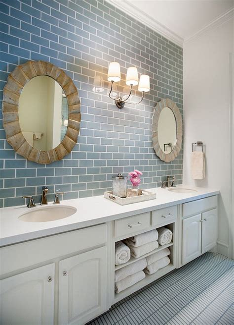 Blue Tile Bathroom Ideas by 37 Light Blue Bathroom Floor Tiles Ideas And Pictures