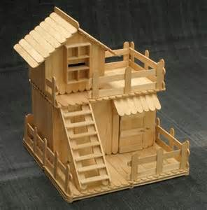 how to build a popsicle stick house 17 best ideas about popsicle stick houses on