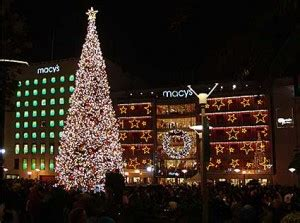 san francisco christmas tree lighting christmas in america best places for yule in the u s
