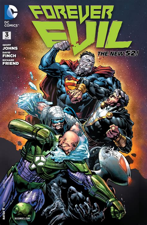 Pdf Forever Evil Geoff Johns by Forever Evil 3 By Geoff Johns Comics Review
