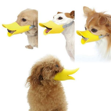 muzzle for small dogs new york mall novelty duckbilled muzzle