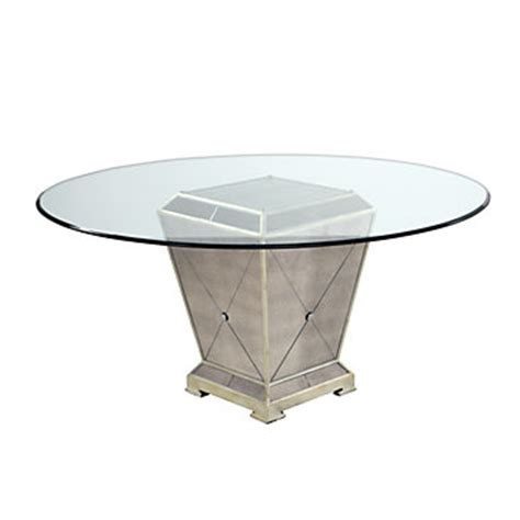 Borghese Mirrored Dining Table Z Gallerie