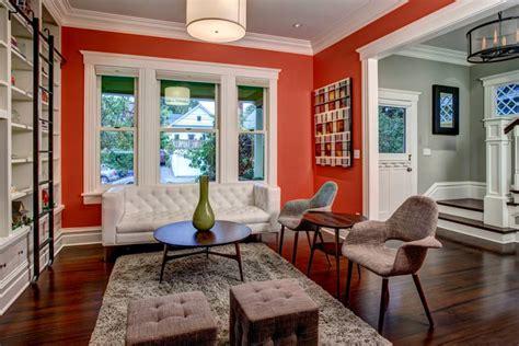 19  Orange Living Room Designs, Decorating Ideas   Design