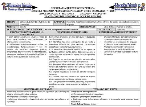 planeaciones segundo grado de primaria bloque 5 gratis 2015 2016 planeaciones del sexto grado del segundo bloque del ciclo