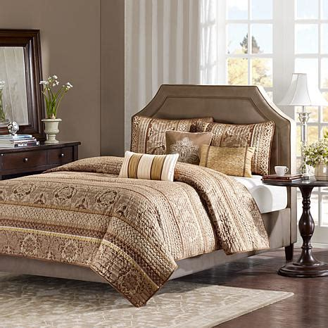 madison park coverlet set madison park bellagio 6 piece coverlet set king brown