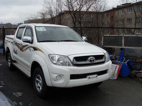 Toyota Up Hilux 2008 Toyota Hilux Up Pictures 3000cc Diesel