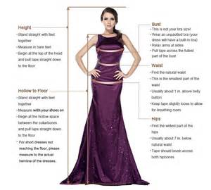 guide on how to take measurements for a custom made dress