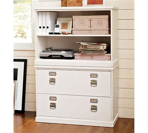 antique white file cabinet bedford lateral file cabinet antique white pottery barn