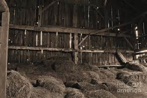 rustic barn interior photograph by photoclique