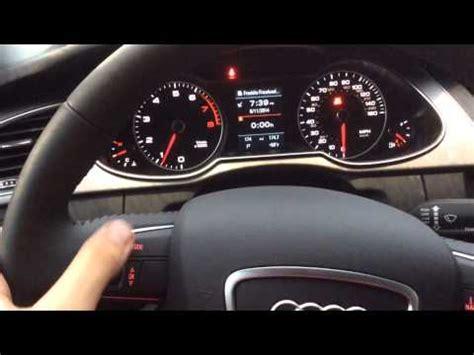 Audi A4 Inspektion by 2014 Audi A4 Driver Display